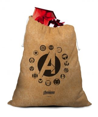 Avengers Logos Christmas Santa Sack chez Casa Décoration