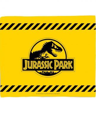 Jurassic Park Tape Fleece Blanket - M chez Casa Décoration
