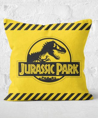 Jurassic Park Tape Square Cushion - 50x50cm - Soft Touch chez Casa Décoration