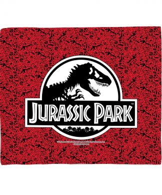 Plaid Jurassic Park Logo - S chez Casa Décoration