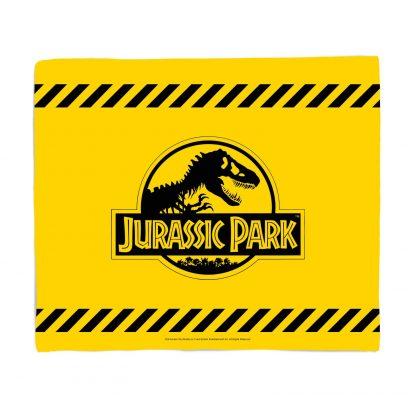Jurassic Park Tape Fleece Blanket - S chez Casa Décoration