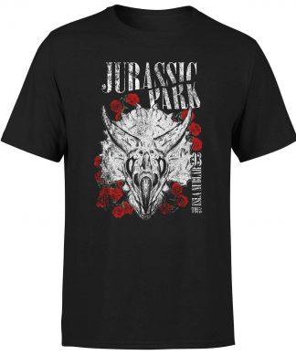 T-shirt Jurassic Park Isla Nublar 93 - Noir - Homme - XS chez Casa Décoration