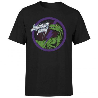 T-shirt Jurassic Park Raptor Bolt - Noir - Homme - XS chez Casa Décoration