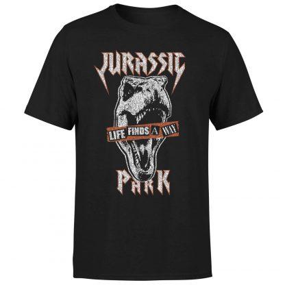 T-shirt Jurassic Park Rex Punk - Noir - Homme - XS chez Casa Décoration