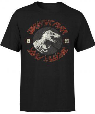 T-shirt Jurassic Park Classic Twist - Noir - Homme - XS chez Casa Décoration