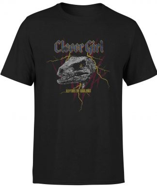 T-shirt Jurassic Park Clever Girl Raptors On Tour - Noir - Homme - XS chez Casa Décoration