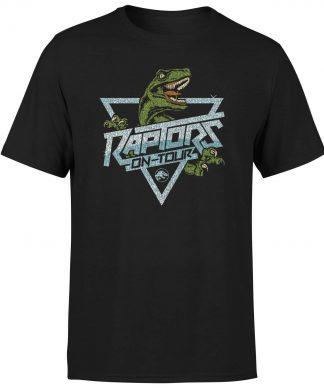 T-shirt Jurassic Park Raptors On Tour Stroke - Noir - Homme - XS chez Casa Décoration