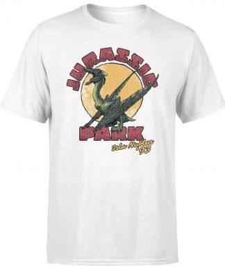 T-shirt Jurassic Park Winged Threat - Blanc - Unisexe - XS chez Casa Décoration