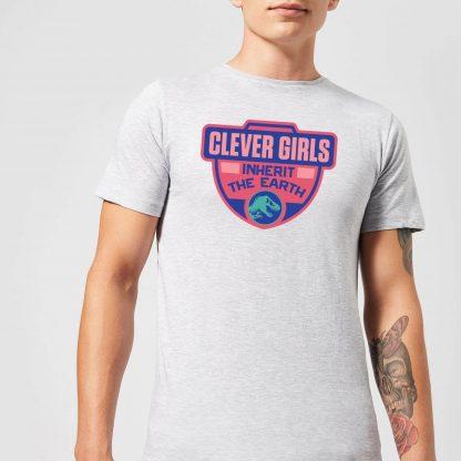 Jurassic Park Clever Girls Inherit The Earth Men's T-Shirt - Grey - XS - Gris chez Casa Décoration