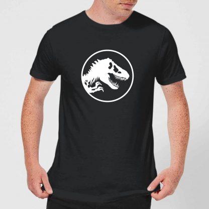 Jurassic Park Circle Logo Men's T-Shirt - Black - XS - Noir chez Casa Décoration