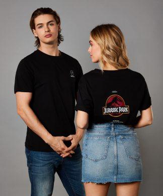 T-shirt Jurassic Park - Unisex - Noir - XS - Noir chez Casa Décoration