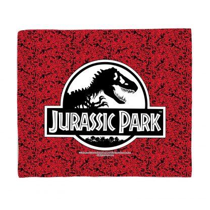Plaid Jurassic Park Logo - M chez Casa Décoration