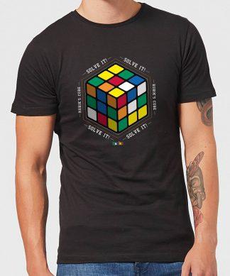 Solve It! Men's T-Shirt - Black - XS - Noir chez Casa Décoration