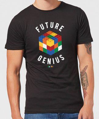Future Genius Men's T-Shirt - Black - XS - Noir chez Casa Décoration