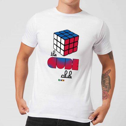 The Cube Club Men's T-Shirt - White - XS - Blanc chez Casa Décoration