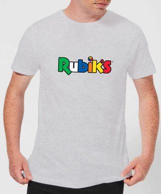 Rubik's Core Logo Men's T-Shirt - Grey - XS - Gris chez Casa Décoration