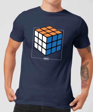 Rubik's Complete Men's T-Shirt - Navy - XS - Navy chez Casa Décoration