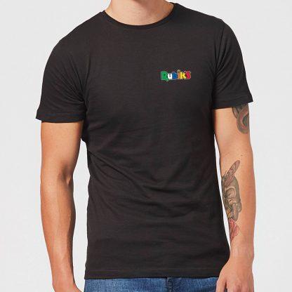 Rubik's Core Logo Pocket Men's T-Shirt - Black - XS - Noir chez Casa Décoration