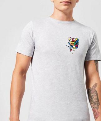 Rubik's Smash Cube Men's T-Shirt - Grey - XS - Gris chez Casa Décoration