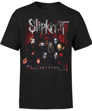 Slipknot We Are Not Your Kind Group Photo T-Shirt - Black - XS chez Casa Décoration
