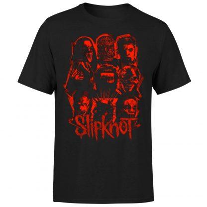 Slipknot Patch T-Shirt - Black - XS - Noir chez Casa Décoration