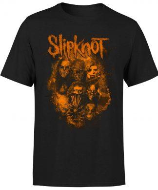 Slipknot Bold Patch T-Shirt - Black - XS chez Casa Décoration