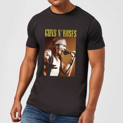 Guns N Roses Axel Live Men's T-Shirt - Black - XS - Noir chez Casa Décoration