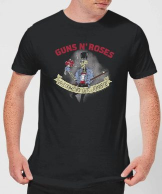 Guns N Roses Jungle Skeleton Men's T-Shirt - Black - XS - Noir chez Casa Décoration