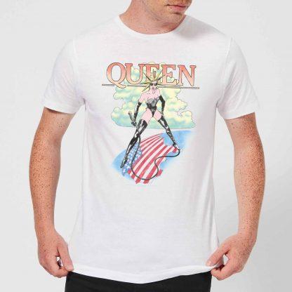 Queen Vintage Tour Men's T-Shirt - White - XS chez Casa Décoration