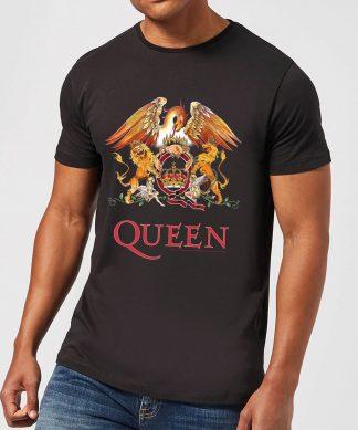 Queen Crest Men's T-Shirt - Black - XS - Noir chez Casa Décoration