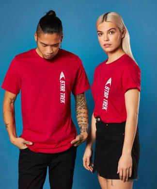 Star Trek - T-shirt Engineer - Rouge - Unisexe - XS - Rouge chez Casa Décoration