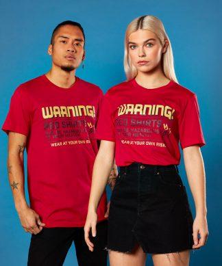 Star Trek - T-shirt Red Shirts - Rouge - Unisexe - XS - Rouge chez Casa Décoration