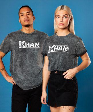 Star Trek - T-shirt Khan - Noir - Unisexe - XS - Noir chez Casa Décoration