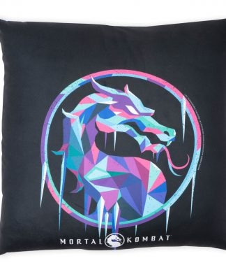 Mortal Kombat Coussin Carré - 50x50cm - Soft Touch chez Casa Décoration