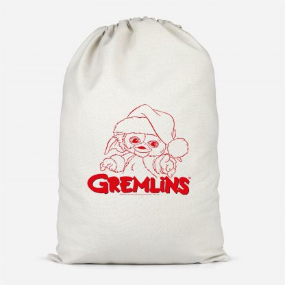 Gremlins Another Reason To Hate Gremlins Christmas Cotton Santa Sack - Small chez Casa Décoration