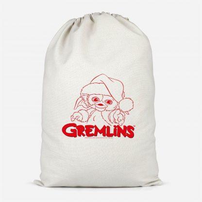 Gremlins Another Reason To Hate Gremlins Christmas Cotton Santa Sack - Large chez Casa Décoration