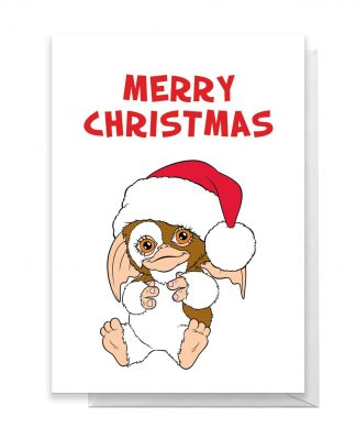 Gremlins Merry Christmas Greetings Card - Large Card chez Casa Décoration