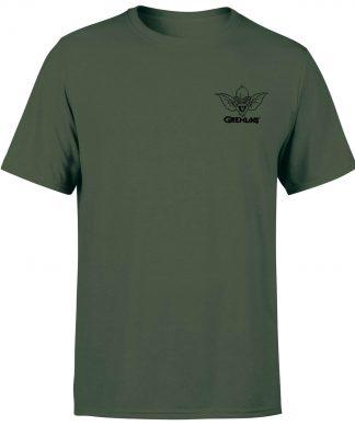Gremlins Stripe Pocket Men's T-Shirt - Forest Green - XS chez Casa Décoration