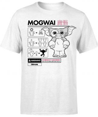 Gremlins Mogwai Instructional Men's T-Shirt - White - XS chez Casa Décoration