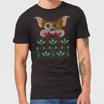 Gremlins Ugly Knit Men's Christmas T-Shirt - Black - XS chez Casa Décoration
