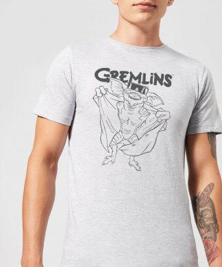 Gremlins Spike's Glasses Men's T-Shirt - Grey - XS - Gris chez Casa Décoration