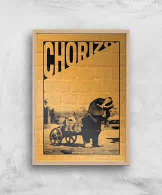 Far Cry 6 Chorizo Giclee Art Print - A4 - Wooden Frame chez Casa Décoration
