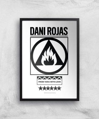 Far Cry 6 Dani Rojas Giclee Art Print - A4 - Black Frame chez Casa Décoration