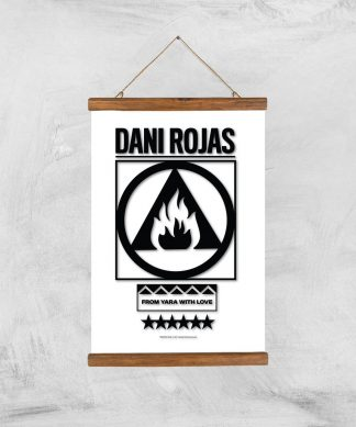 Far Cry 6 Dani Rojas Giclee Art Print - A3 - Wooden Hanger chez Casa Décoration