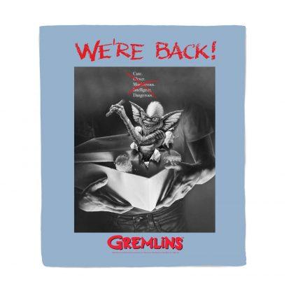 Gremlins Poster Bed Throw chez Casa Décoration